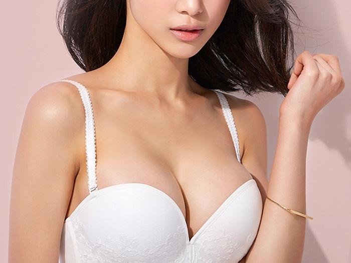 bí quyết nâng ngực đẹp