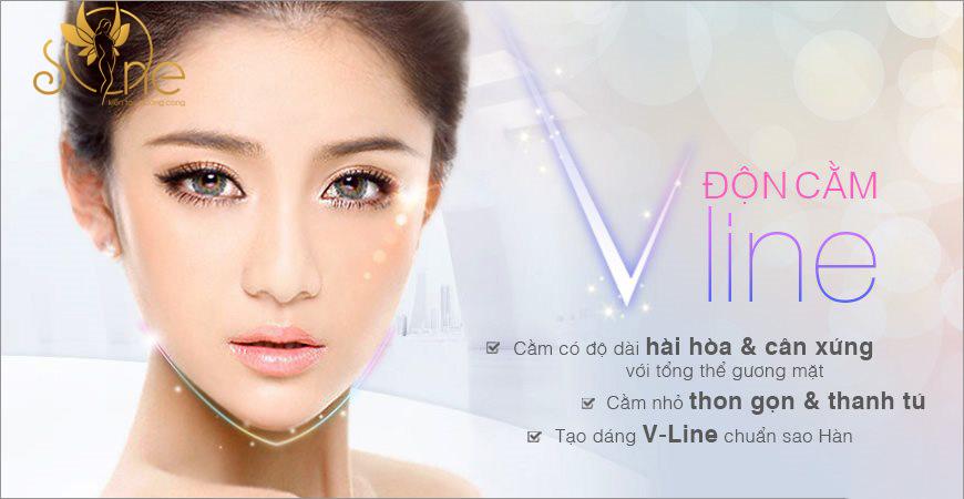 ĐỘN CẰM V LINE SỤN SOFTXIL PLASMA