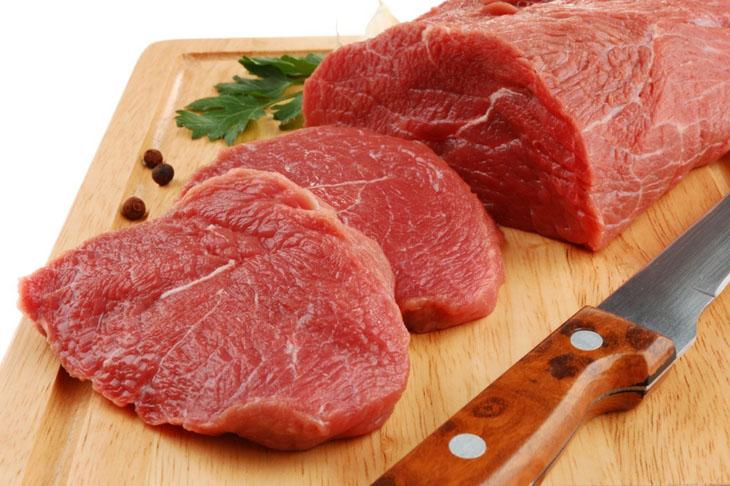 nâng ngực kiêng ăn thịt bò bao lâu